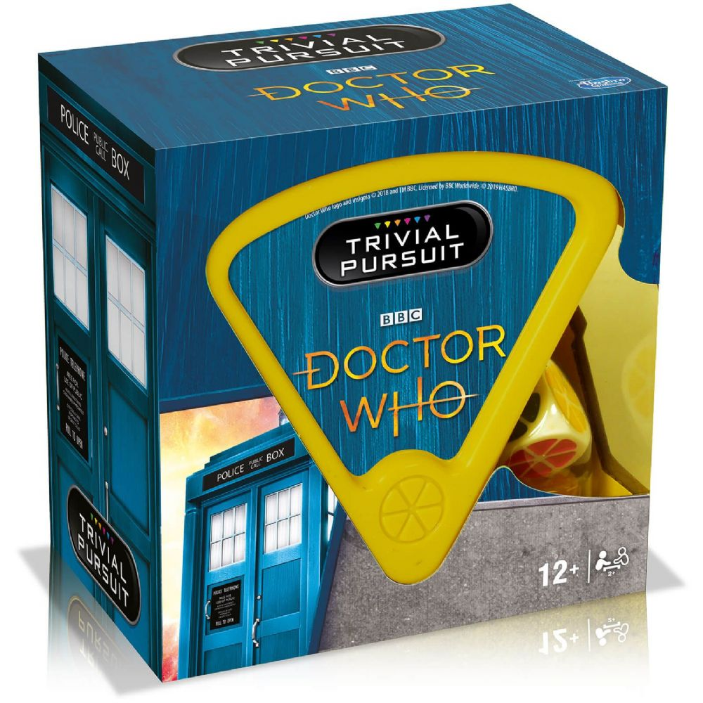 GAME TRIVIAL PURSUIT BITE SIZE - DR WHO EDITION